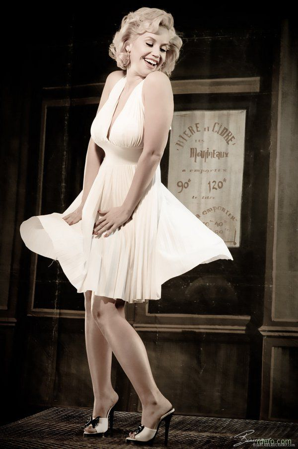 Bianca Beauchamp в образе Merilyn Monroe