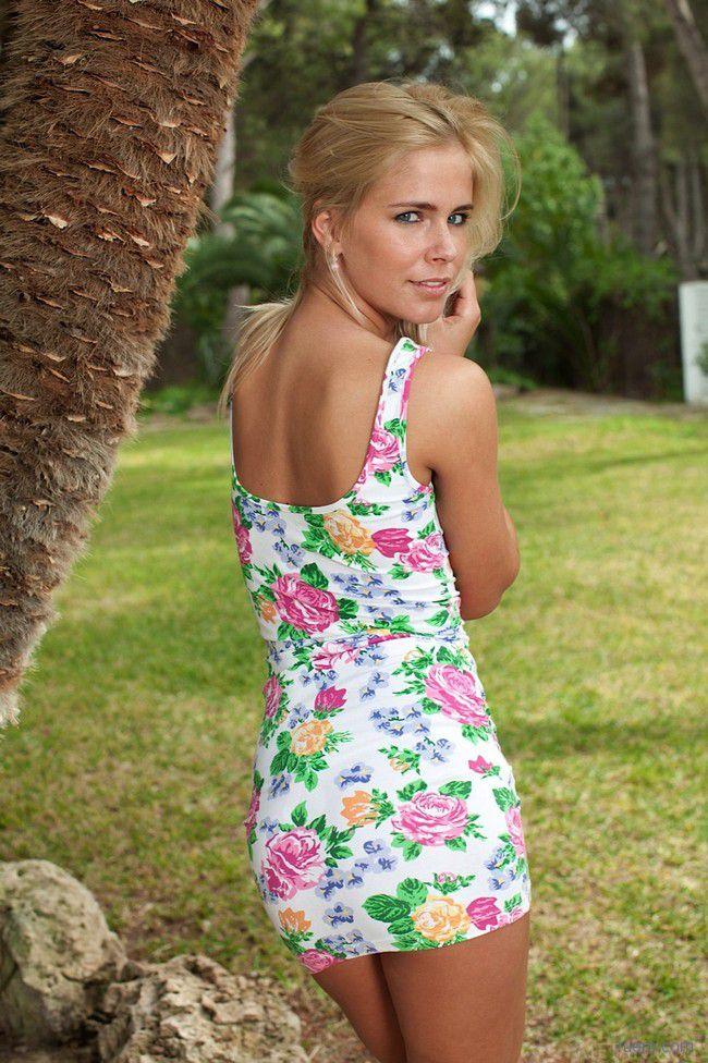 Tracy A : под пальмой