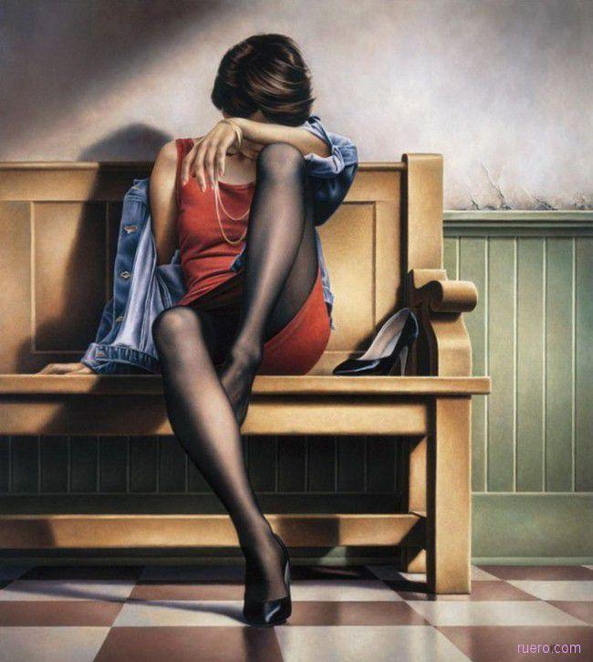 Женщины художника Paul Kelley