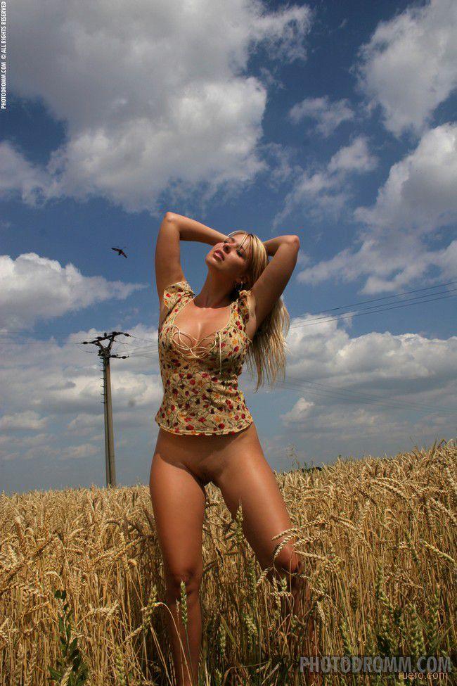 Caterina : выйду в поле...