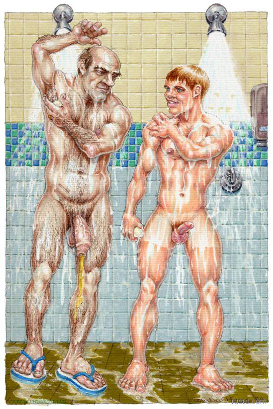 Кто первый мыло ронять будет?