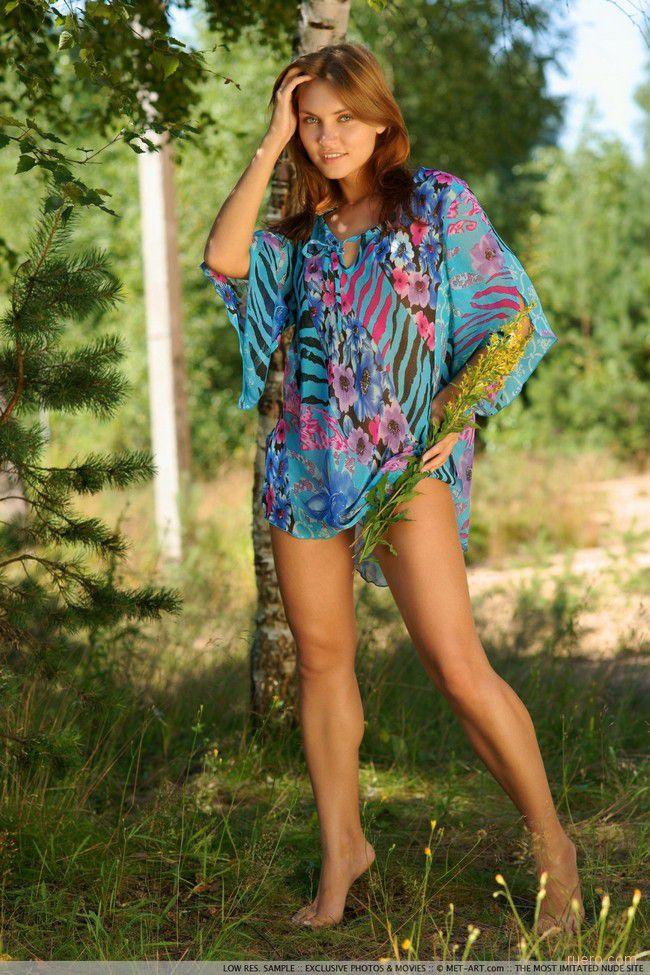 Ksenia : летом на опушке