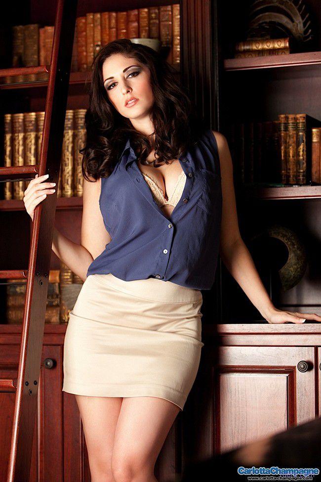 Carlotta Champagne : будни библиотекаря