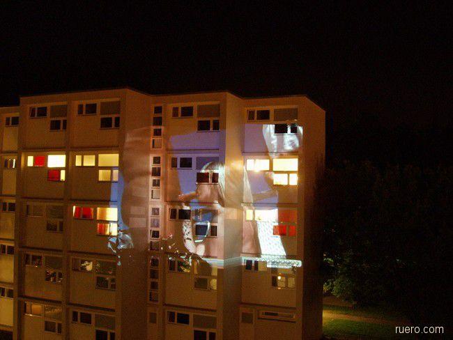 Ночная проекция