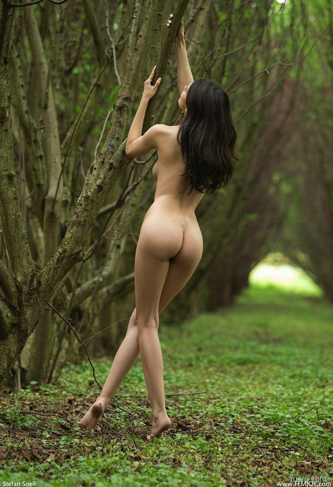 Jasmine A: на парковой дорожке