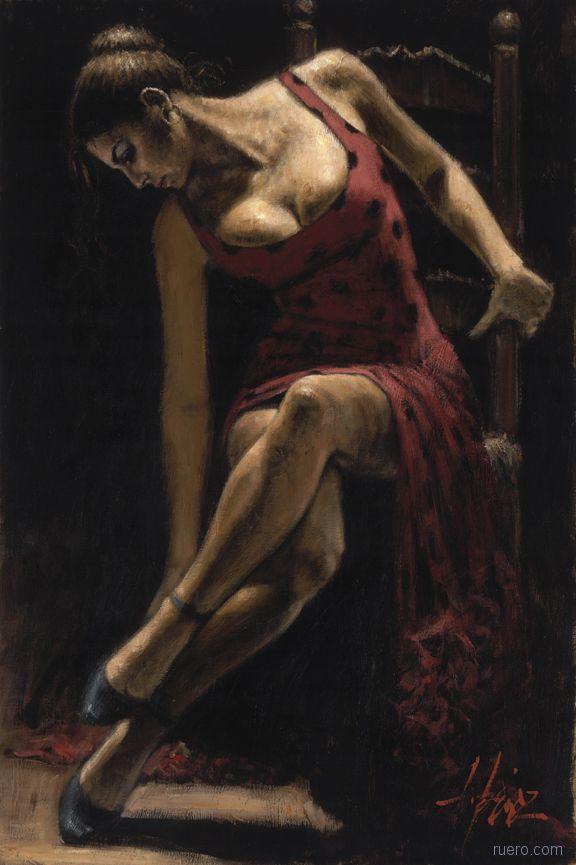 Художник Fabian Perez : страсти по женщине