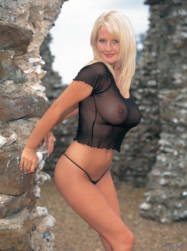 Michelle Marsh : классика блондинки