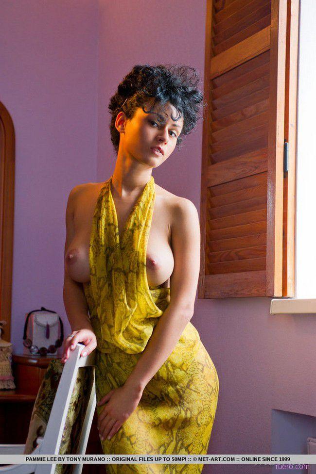 Pammie Lee : в желтом платье
