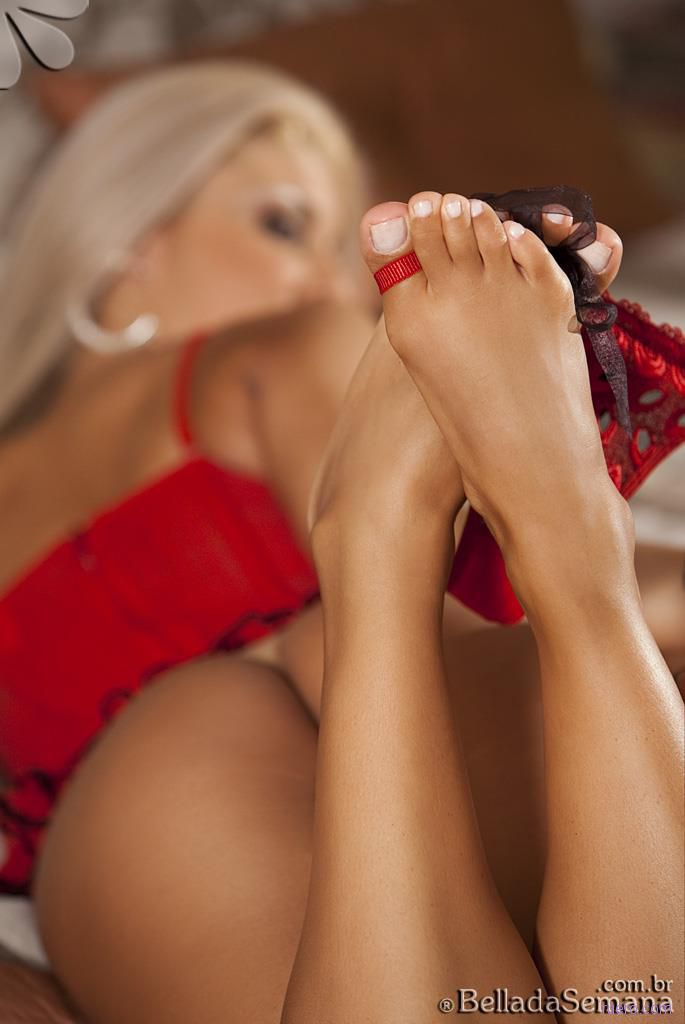 Rita de Morais : бразильская блондинка