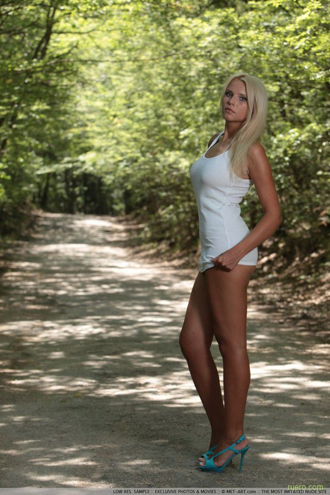 Katerina : блондинка на тропе